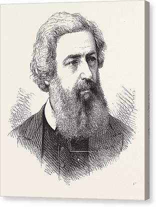 George Dawson, Preacher, 18211876, English Preacher Canvas Print by English School