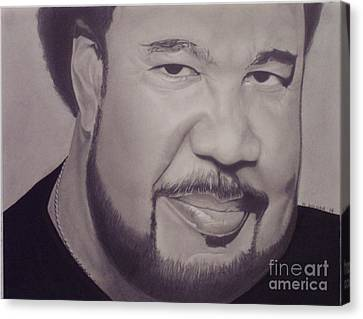 George Duke Canvas Print by Wil Golden