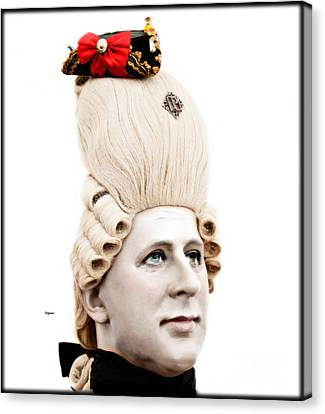 George During His Pretty Days  Canvas Print by Steven Digman