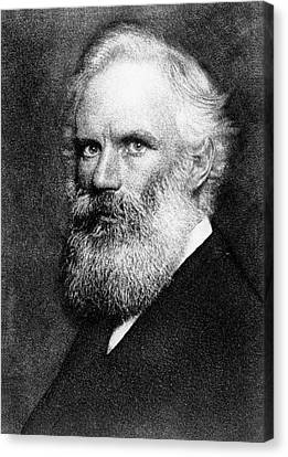 George Fitzgerald Canvas Print by Hollinger And Rockey, New York, Swan Electric Engraving Co., Courtesy Aip Emilio Segre Visual Archives, Brittle Books Collection, Physics Today Collection