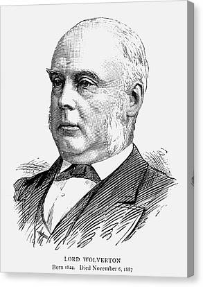 George Glyn (1824-1887) Canvas Print by Granger