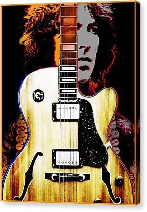 George Harrison Canvas Print by Larry Butterworth