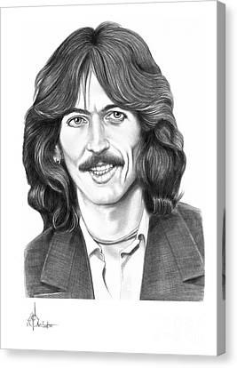George Harrison Canvas Print by Murphy Elliott