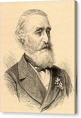 George Julius Poulett Scrope Canvas Print by Universal History Archive/uig