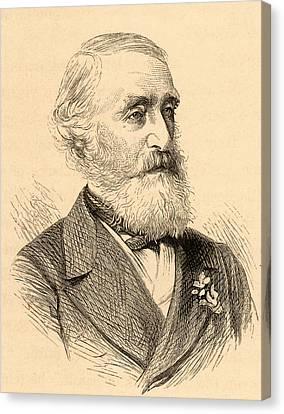 George Julius Poulett Scrope Canvas Print