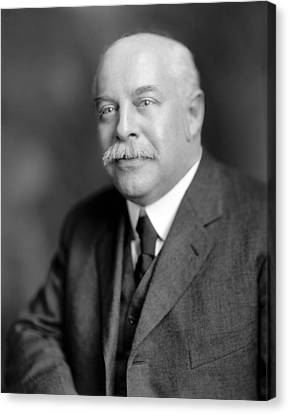 Ewing Canvas Print - George K. Burgess, Us Physicist by Science Photo Library