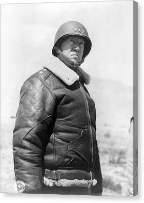 George Smith Patton Canvas Print by Granger