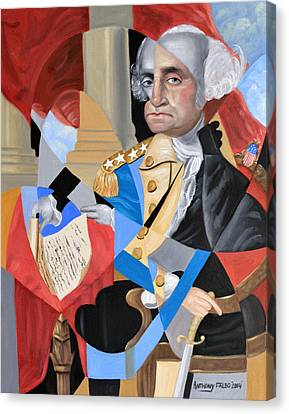 George Washington Canvas Print by Anthony Falbo