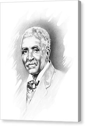 George Washington Carver Canvas Print by Gordon Van Dusen