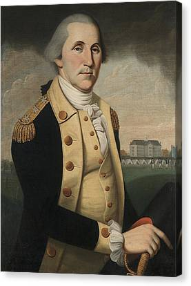George Washington Canvas Print by Charles Peale Polk