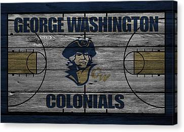 George Washington Colonials Canvas Print