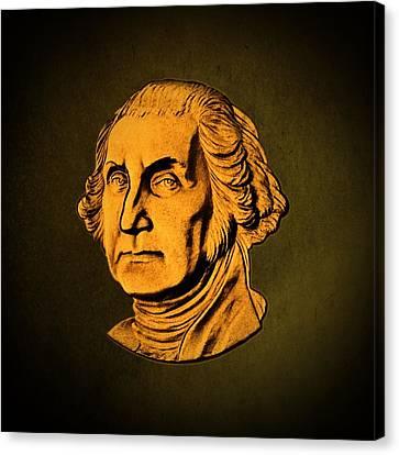 George Washington Canvas Print by David Dehner