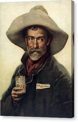 George Wiedemann's Brewing Company C. 1900 Canvas Print by Daniel Hagerman