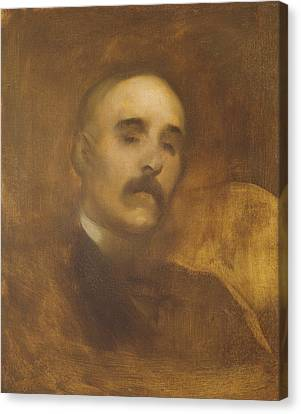 Ghostly Canvas Print - Georges Clemenceau  by Eugene Carriere