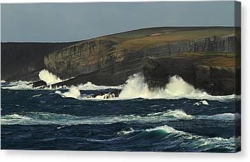 Georges Head Kilkee Canvas Print by Peter Skelton