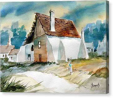 George's House Canvas Print by Sam Sidders