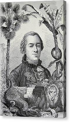 Georges-louis Leclerc Canvas Print