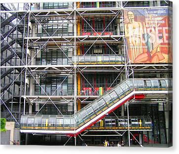 Georges Pompidou Centre Canvas Print