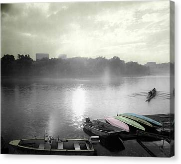 Georgetown Waterfront Canvas Print