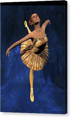 Georgia - Ballerina Portrait Canvas Print by Andre Price