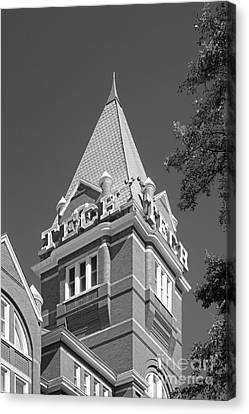 Ga Canvas Print - Georgia Institute Of Technology Evans Administration Building by University Icons