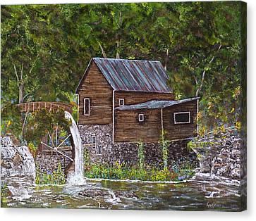 Georgia Mill Canvas Print by Leo Gehrtz