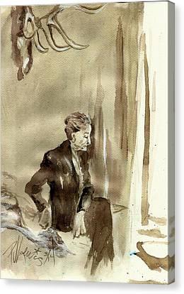 Georgia O'keeffe Canvas Print