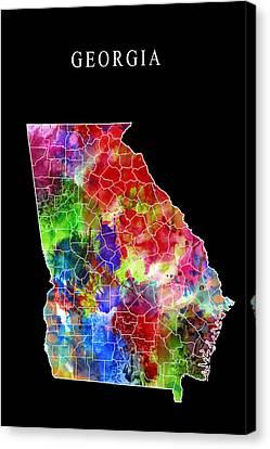Georgia State Canvas Print