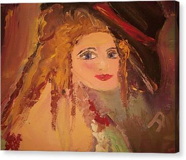 Georgiana Canvas Print by Judith Desrosiers