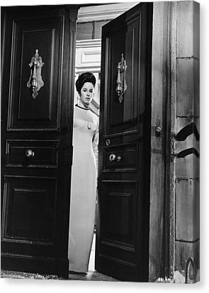 Geraldine Chaplin Canvas Print by Silver Screen