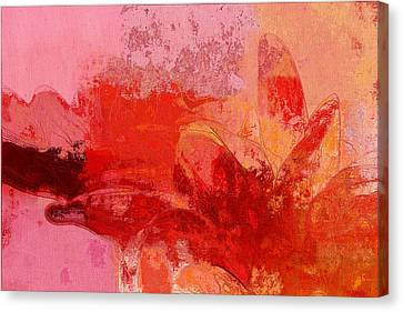 Gerberie - 221at02 Canvas Print by Variance Collections