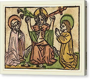 German 15th Century, Last Judgment Canvas Print