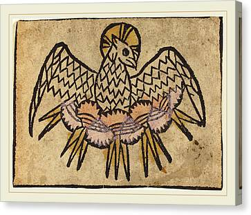 German 15th Century, The Holy Ghost Canvas Print