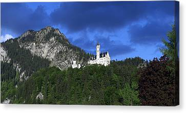German Castle Canvas Print by Hans Engbers