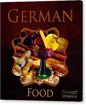 German Food Gallery Canvas Print
