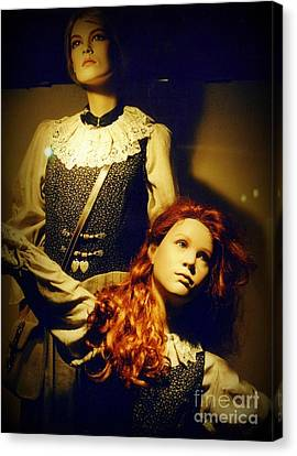 German Mannequins Canvas Print by Halifax Photography John Malone