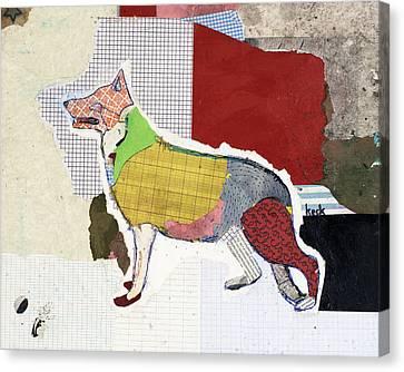 German Shepherd Canvas Print by Michel Keck