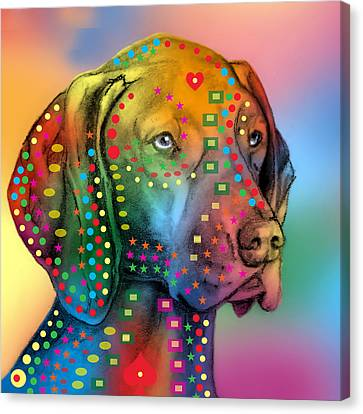 German Shorthair Pointer Canvas Print