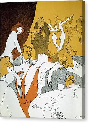 Germany, 1920s: Cartoon Canvas Print by Granger