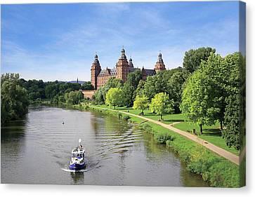 Germany, Aschaffenburg, Schloss (castle Canvas Print by Miva Stock