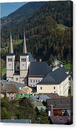 Germany, Bavaria, Berchtesgaden Canvas Print by Walter Bibikow