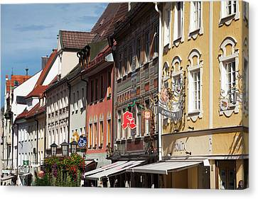 Germany, Bavaria, Fussen Canvas Print