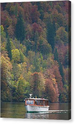 Germany, Bavaria, Konigsee Canvas Print by Walter Bibikow