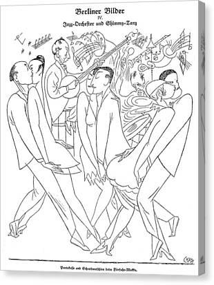 Germany Dance Craze, 1921 Canvas Print by Granger