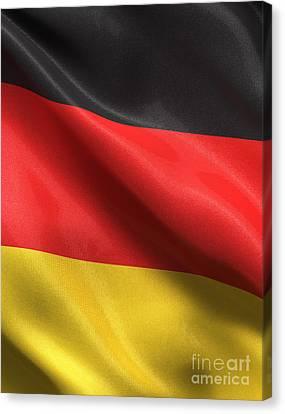 Germany Flag Canvas Print by Carsten Reisinger