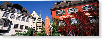 Germany, Meersburg, Lake Constance, Low Canvas Print by Panoramic Images