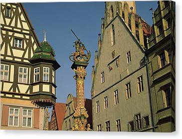 Germany, Rothenburg, Looking Canvas Print by Jaynes Gallery