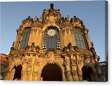 Germany, Saxony, Dresden, Zwinger Canvas Print by Tips Images