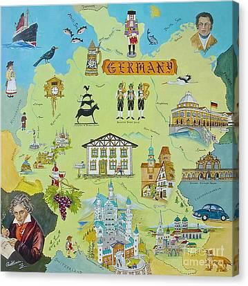 Germany Canvas Print by Virginia Ann Hemingson