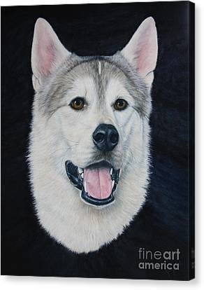 Malamute Canvas Print - Geronimo by Joey Nash